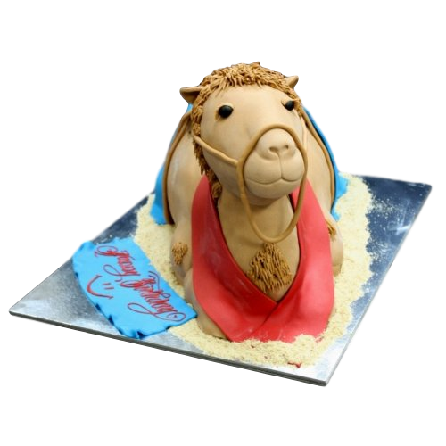 camel cake 3d shape 7