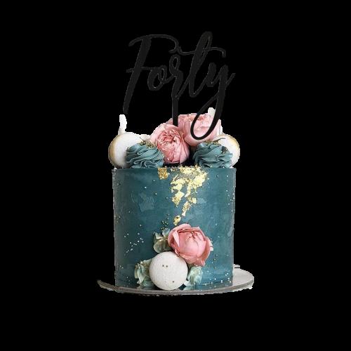 40th birthday cake 2