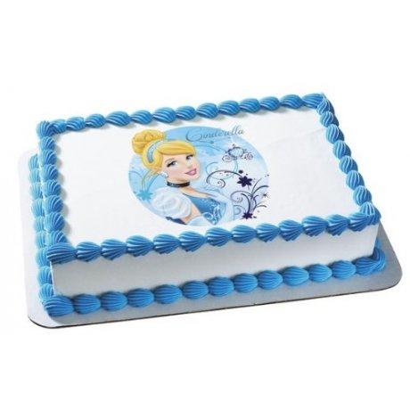 cinderella cake with photo 3 6