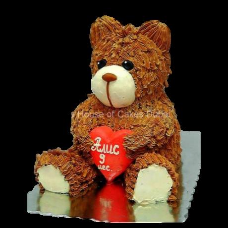 3d teddy bear cake 6