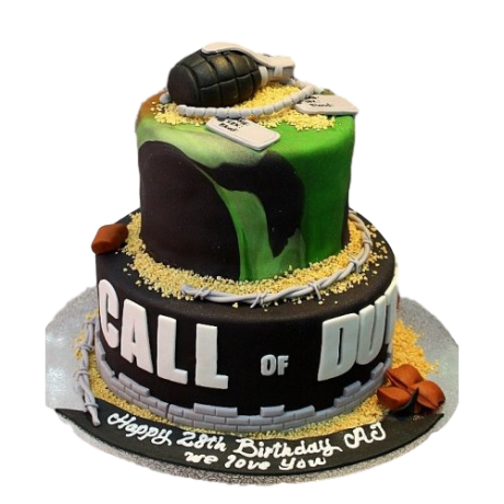 call of duty cake 6