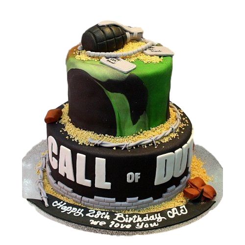 call of duty cake 8