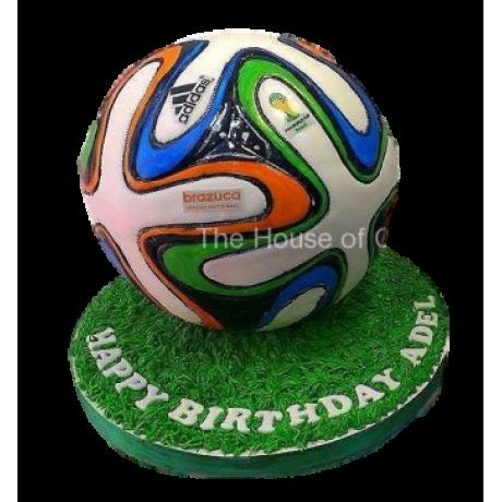 Brazuca Ball Cake