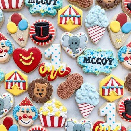 circus cookies 6