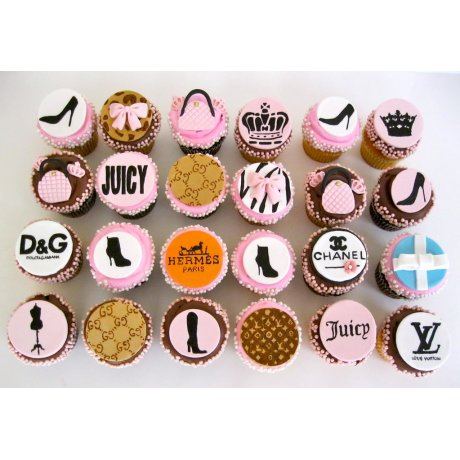 fashion brands cupcakes 6