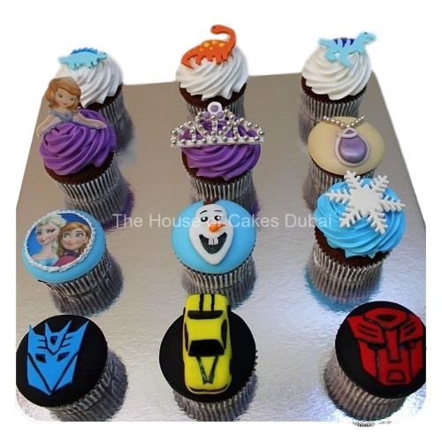 custom cupcakes selection 8