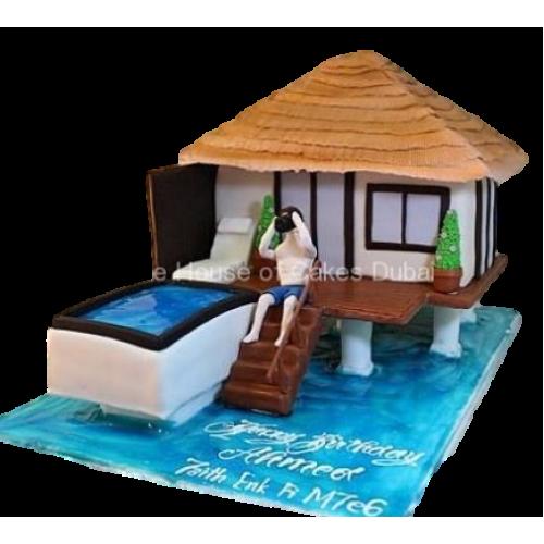 Beach House cake
