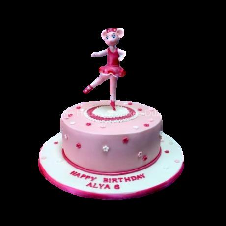 angelina ballerina cake 2 6