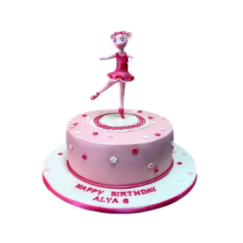 angelina ballerina cake 2 7