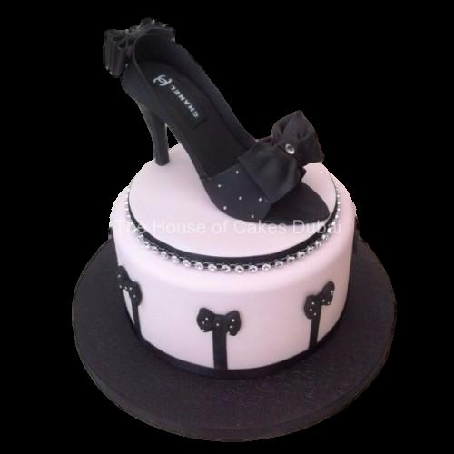 chanel shoe cake 2 7