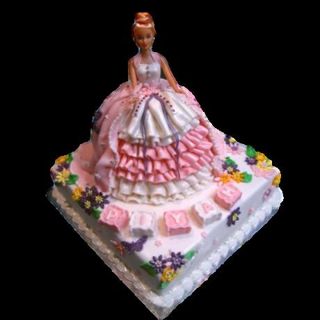 barbie cake 9 6