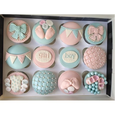 baby shower cupcakes 12