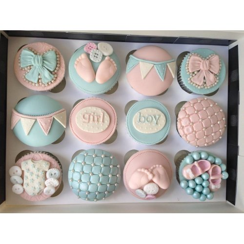 baby shower cupcakes 7