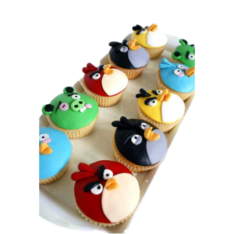 angry birds cupcakes 2 6