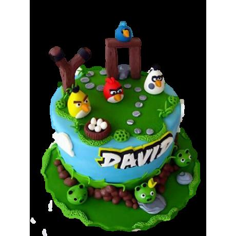 angry birds cake 8 6