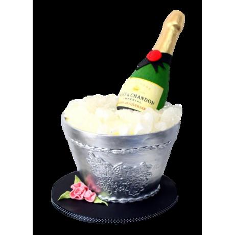 champagne bottle cake 1 6
