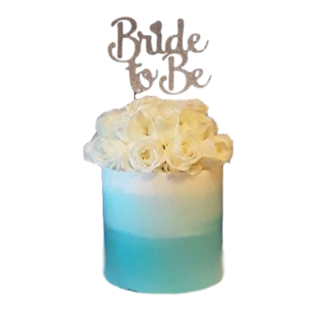 Going to be a bride cake