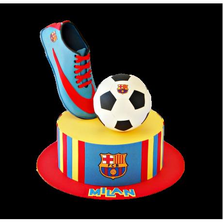 Barcelona cake 5