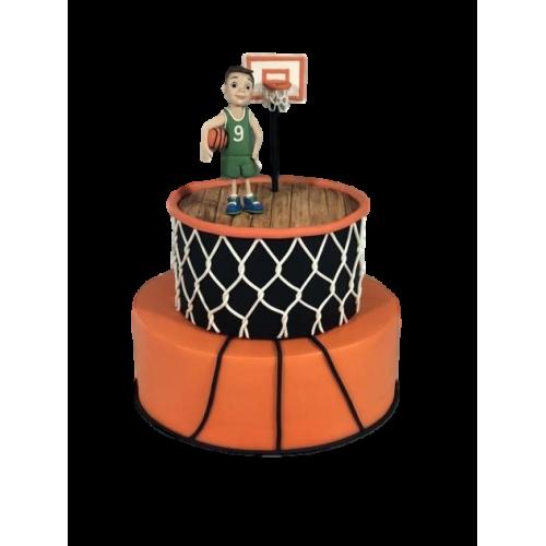 basketball cake 3 7