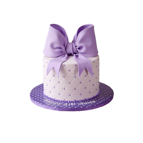 cake with ribbon 6