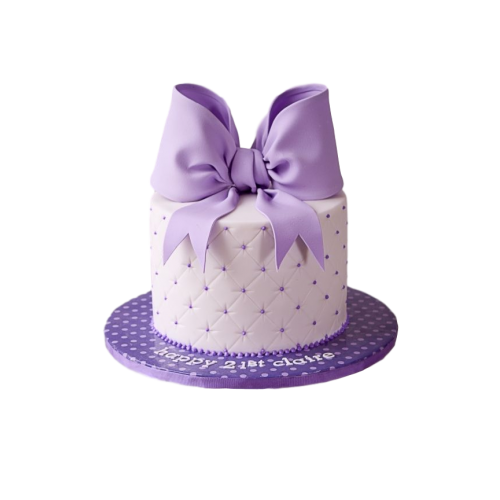 cake with ribbon 7