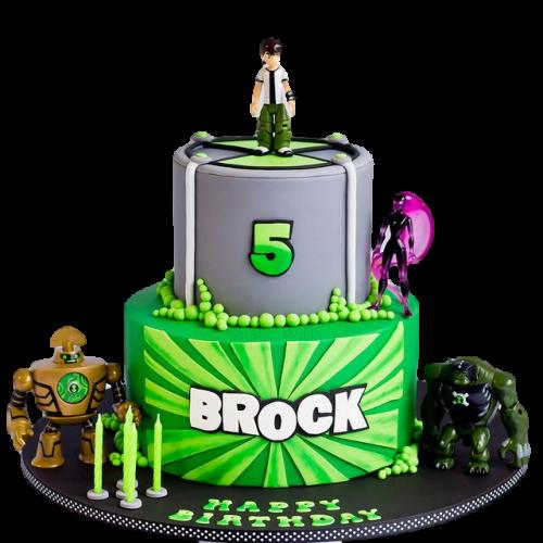 ben 10 cake #10 7
