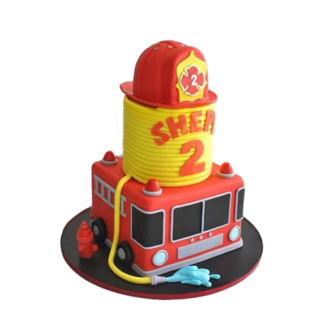 fire fighter cake 6