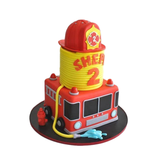 fire fighter cake 7
