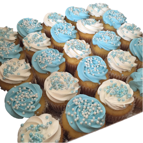 blue and white cupcakes 7