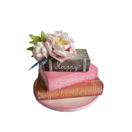 books cake 2 6