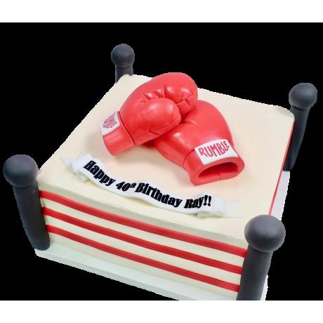 mma gloves cake 6