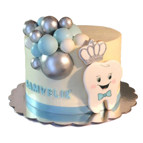 tooth cake 5 6