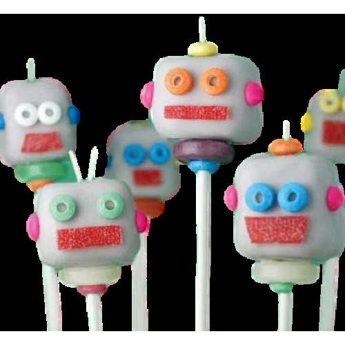 robot cake pops 7