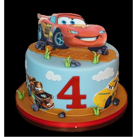 disney cars cake 4 6