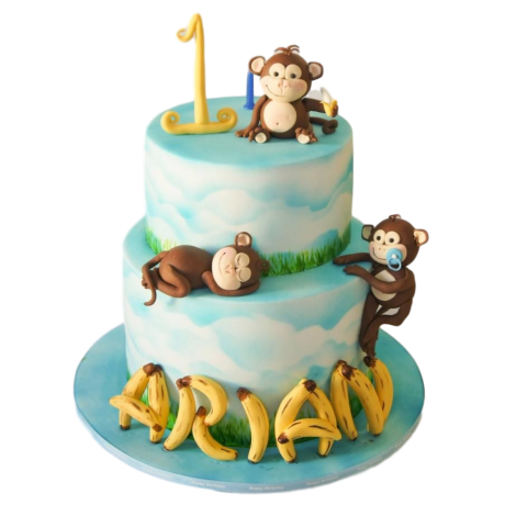 monkey cake 5 6