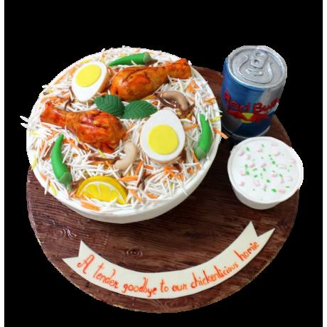 biryani cake 6