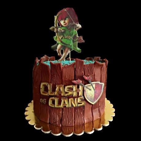clash of clans cake 1 12