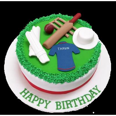 Cricket cake 2