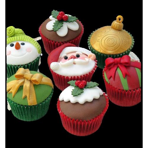 christmas cupcakes 2 7