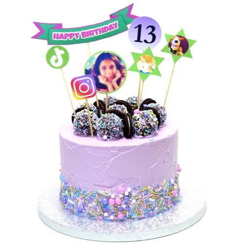 13th teenager birthday cake for girl 7