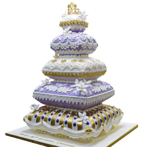 royal cushion cake 2 8