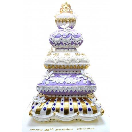 royal cushion cake 2 7
