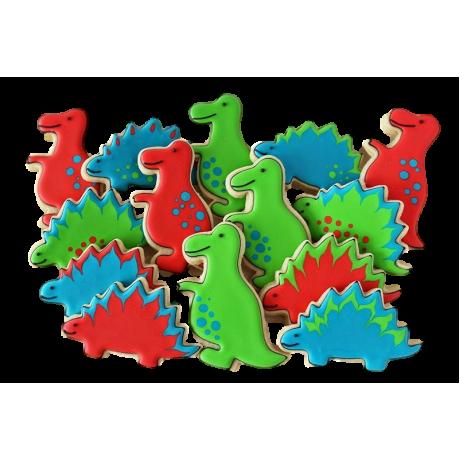 Dinosaur cookies 1
