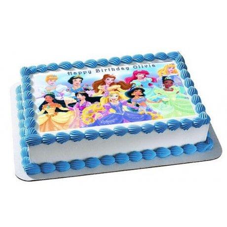 cinderella cake with photo 1 6