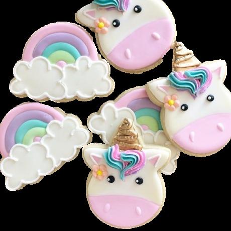 rainbow unicorn cookies 12