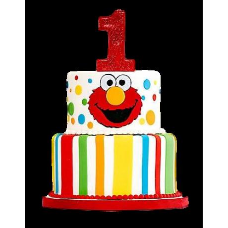 cake elmo 1 6