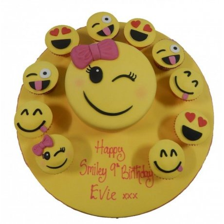 emoticons cake and cupcakes 6