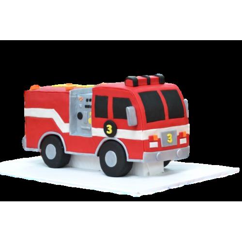 fire truck cake 7