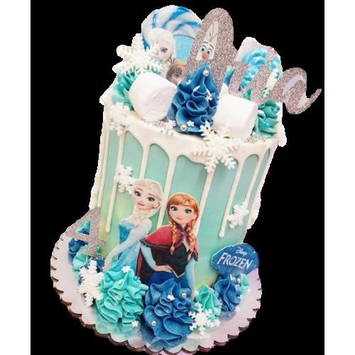 frozen cake 5 7