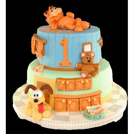 garfiled cake 3 6
